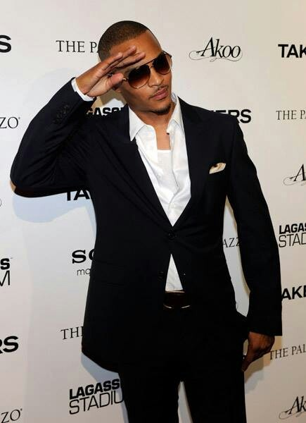 T.I. Sexy and has the best smile ever