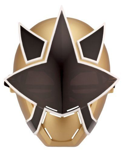 Power Ranger Gold Mask by Power Rangers. $9.99. From the Manufacturer                Become a Power Ranger in Mega Mode with this awesome Mask!  The Mask includes an inner eye pad to create a comfortable wearing environment.  Use the Mask to pratice training moves under cover!  As seen in the TV show each Ranger has a unique Power element on the Mask, discover the Power of each figure!  This Mask is the perfect addition to the Ranger gear!  Collect all the Masks - offered...