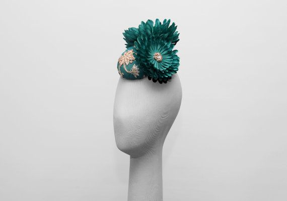 LADY JADE Headpiece/ Hat