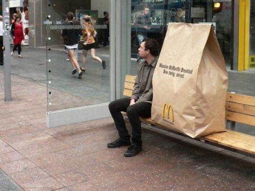 McDonalds 'big breakfast' : ) PD