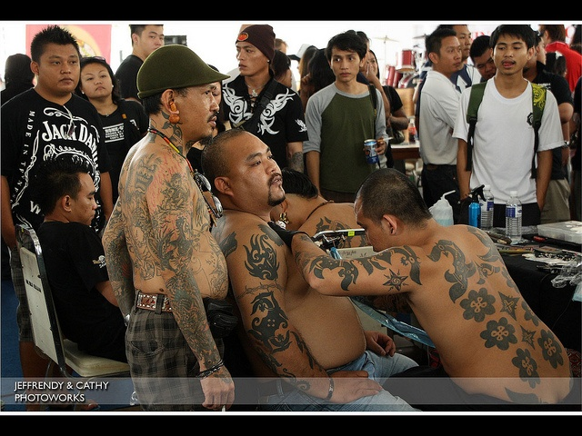 2010: Borneo Tattoo by jeffrendy, via Flickr #tattoo #Borneo #Sarawak