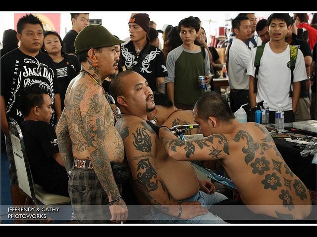 2010: Borneo Tattoo by jeffrendy, via Flickr #tattoo #Borneo #Sarawak