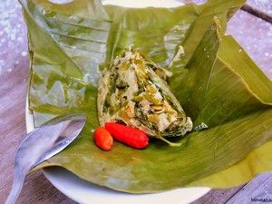 Resep Botok Lamtoro Teri - Resep Masakan Nusantara