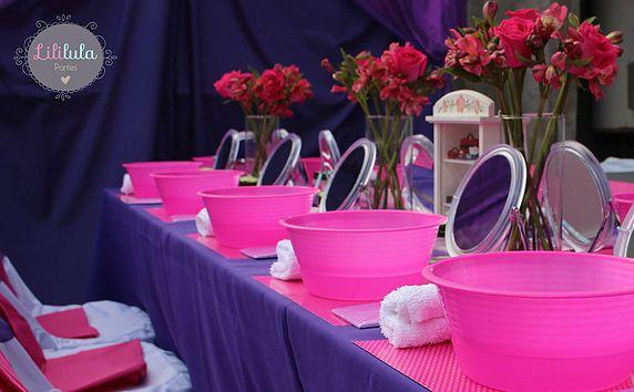 Fiestas Infantiles y Spa para niñas en Querétaro | Fiesta Spa Violetta: Jimena - 9 años