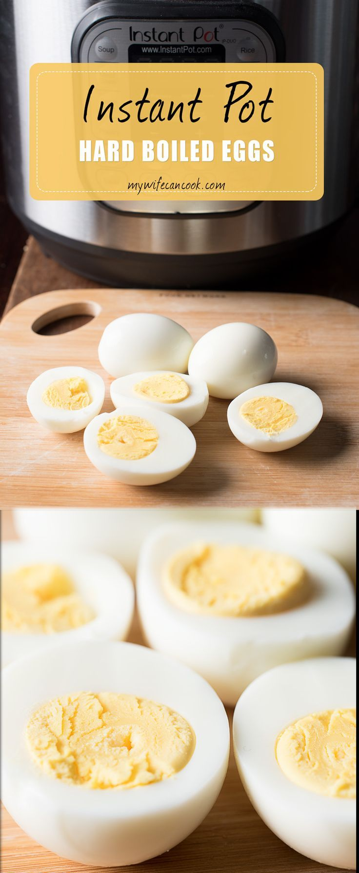 If you hate peeling hard boiled eggs then these instant pot hard boiled eggs are just what you are looking for. Instant pot Hard-boiled eggs couldn't be easier and they're definitely easier to peel. We all hate when the egg shell adheres to the egg and ju