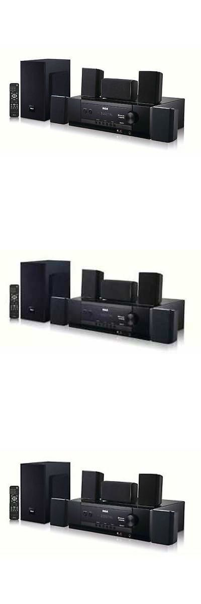 Home Theater Systems: Rca 5.1 Channel Bluetooth Home Theater System -> BUY IT NOW ONLY: $111.99 on eBay!