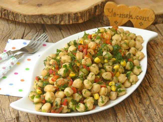 Nohut Salatası Resimli Tarifi - Yemek Tarifleri