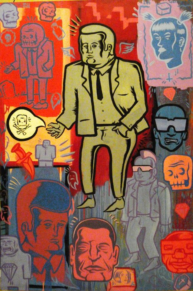 Matt Geer, Chicago punk artist Artist, Sketches, Art