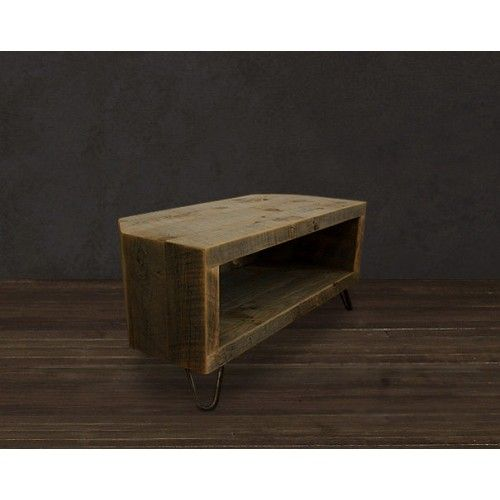 Etonnant Reclaimed Wood Corner TV Stand