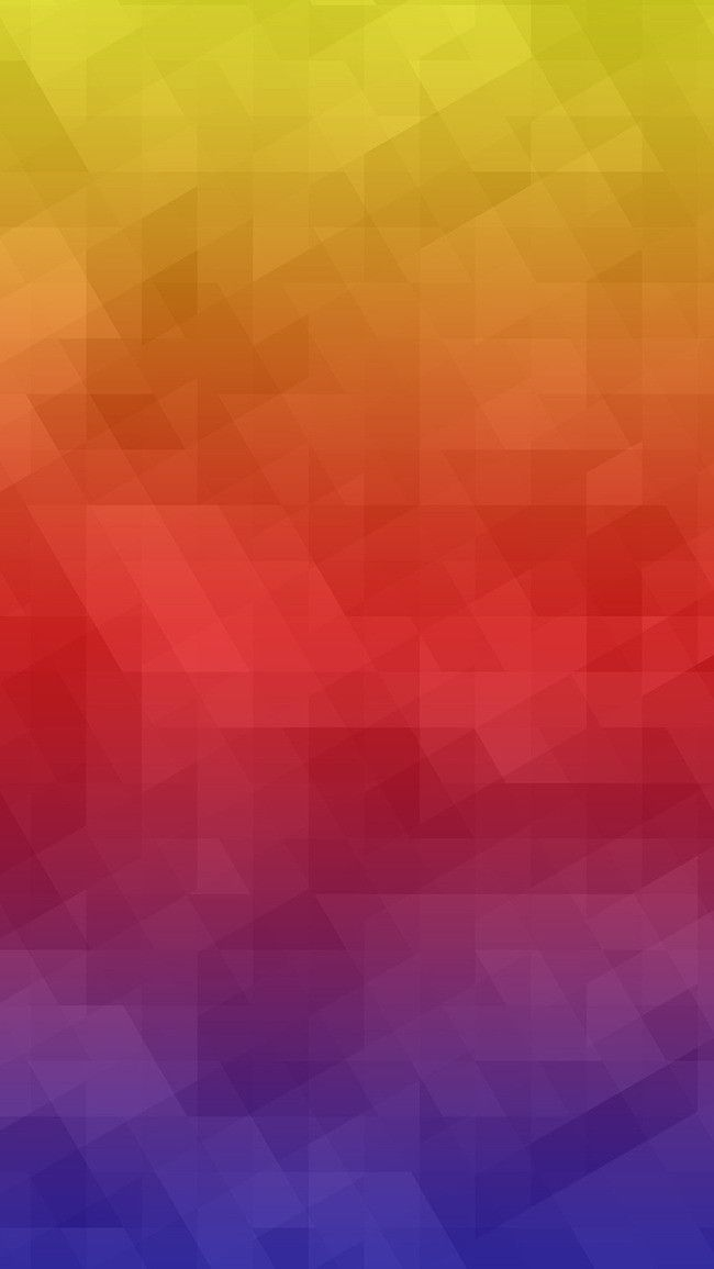 Gradient Geometric Flattening App Mobile Terminal H5