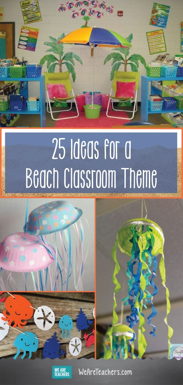 25 Sand Sational Beach Themed Classroom Ideas Ocean Theme