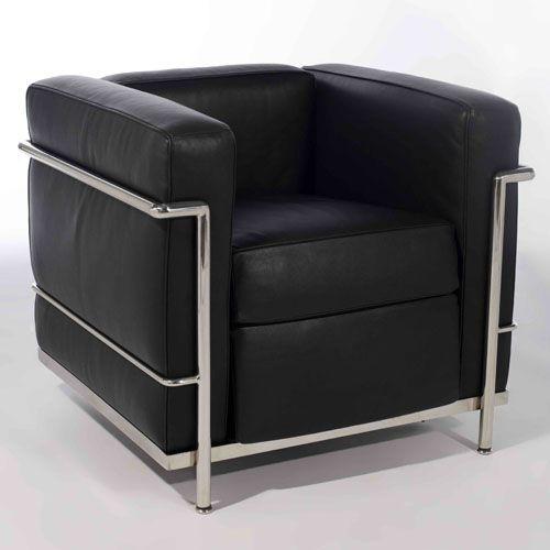 Le Corbusier Furniture   Le Corbusier LC2 Sofa,Le Corbusier Armchair LC2-ideacollection