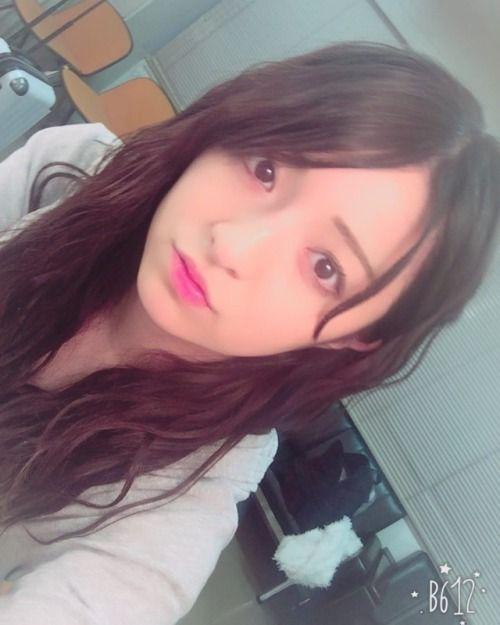 今の長さはこれくらい()長いとあまりアレンジ出来なくてつまらなくて前髪あげるか流すかしか出来ないみんなはどーおもう... #Team8 #AKB48 #Instagram #InstaUpdate