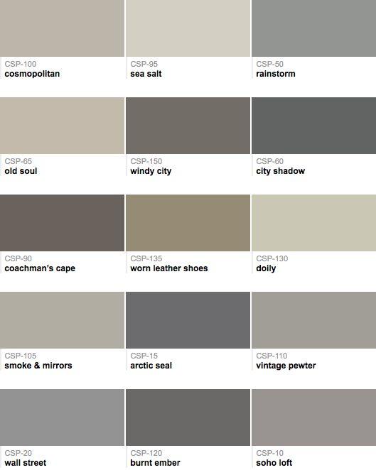 gray love the bungalow pinterest paint colors grey paint and grey paint colors. Black Bedroom Furniture Sets. Home Design Ideas
