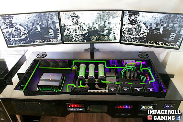 "Welcome to another Case Mod Friday showcase! This week we have Imfaceroll's ""Ultimate Custom Desk PC"" build. Here is what they had to say about it, &qout;I was researching the internet one night for a new computer because my laptop just wasn't up to scratch anymore and it couldn't even run battlefiel…"