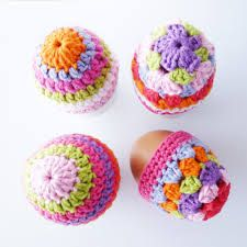 Image result for crochet easter egg owls