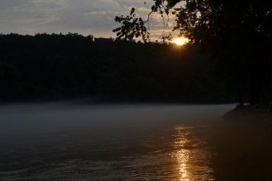 The White River.