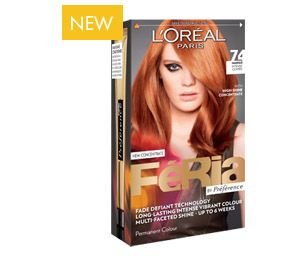 Fria By Prfrence NEW 74 Mango Intense Copper Wwwloreal