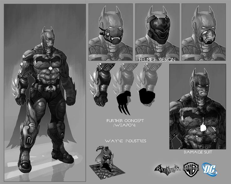 Batman Suit Concept by Vital-Dynamite.deviantart.com on @DeviantArt
