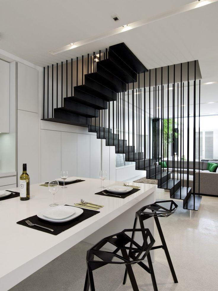 ONG | 31 Blair Road #stair #escalier #métal #steel #acier #architecture…