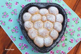 AranyTepsi: Mogyorókrémes labdabukta torta