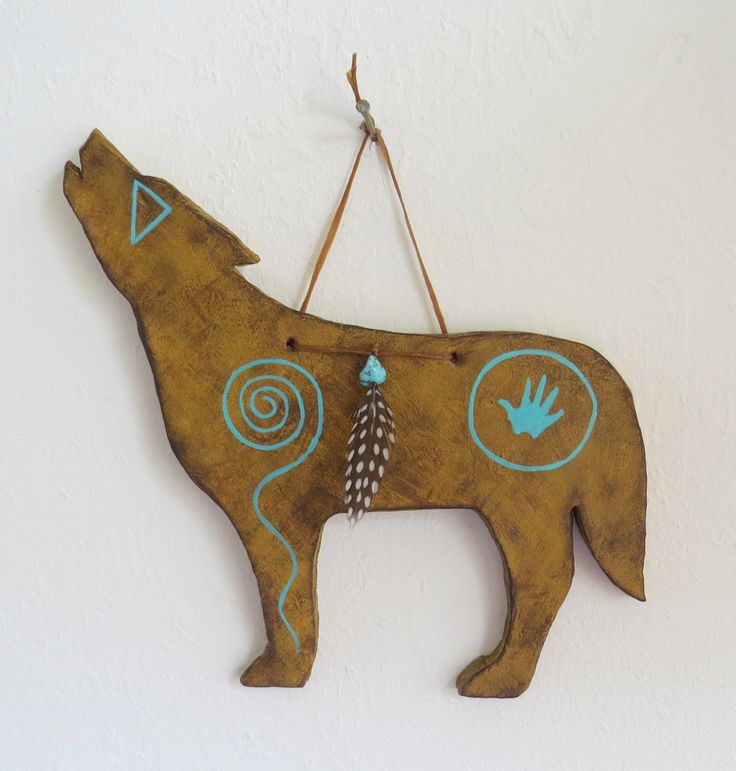 acoma totem wolf - Google Search