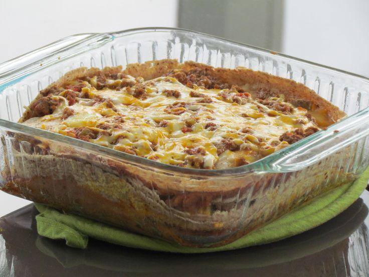 Burrito Pie Recipe - Thriving Home