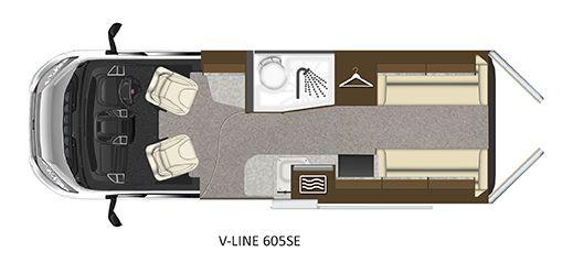 V-Line 605-SE Floorplan