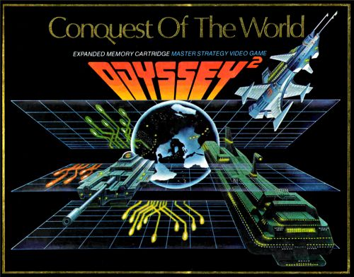 Conquest of the World - for Magnavox Odyssey 2