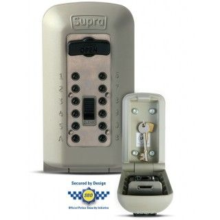 The Supra C500 Key Safe was designed after extensive consultation with users. It is the only mechanical key safe to have Police approval for being tested on outside walls. This approval is recognised by Secured By Design, as well as by leading home insurance companies.   It is also the only mechanical key safe box to achieve LPS 1175 : Issue 6, Security Rating 1 security rating which means it has undergone a series of rigorous and demanding tests devised by security experts (The LP...