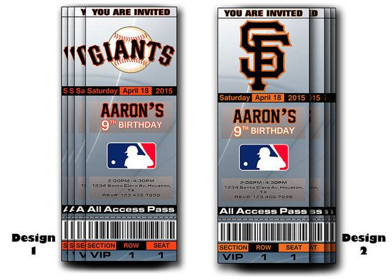 Custom Invitations San Francisco