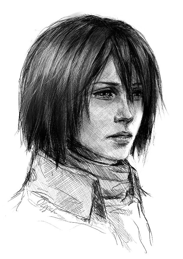 Mikasa Shingeki No Kyojin By Olggah On DeviantART