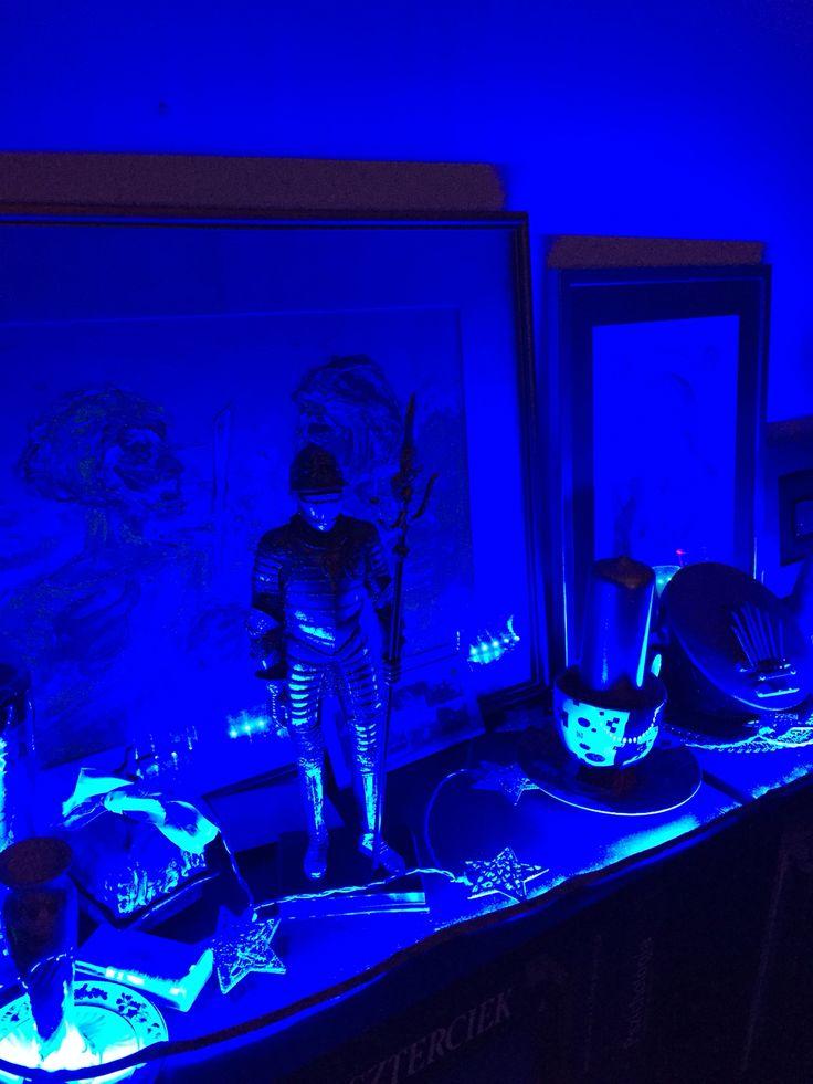 #led # blue #home #hungary