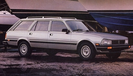peugeot 505 wagon  95 hp?  Mine must have had a jet pack - almost 44mpg and it loved speeds above 70mph