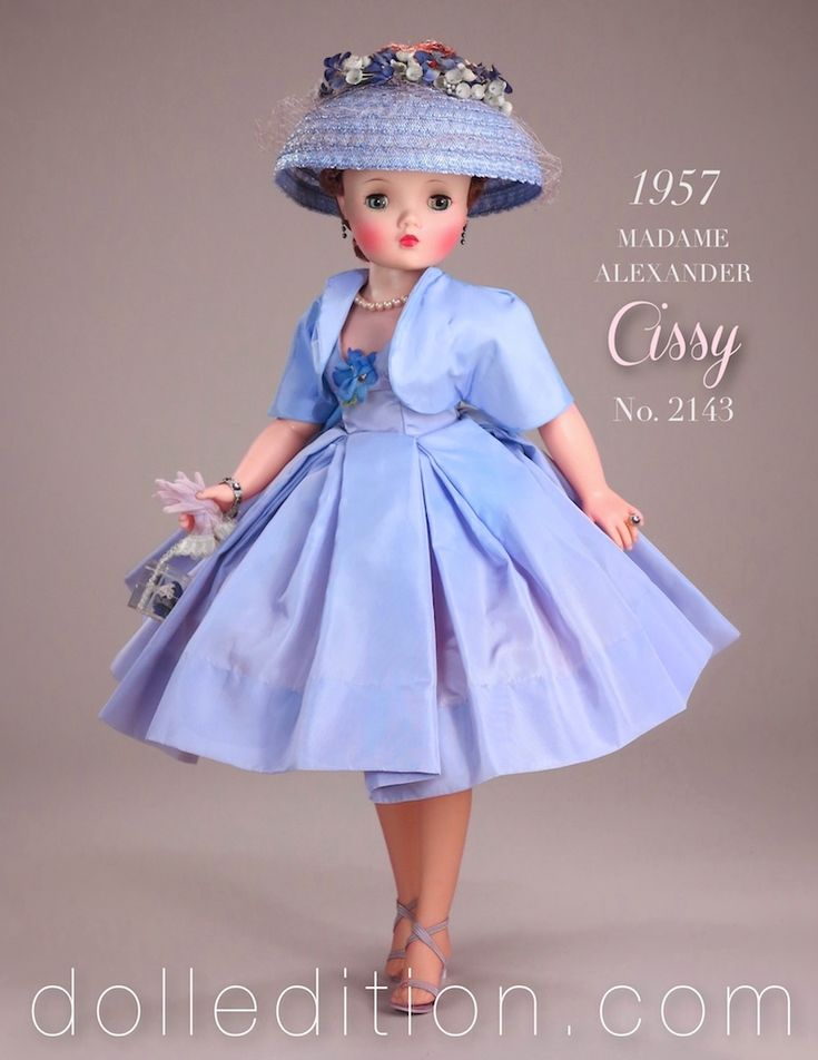 Easter 2014 - features this iconic 1960 Cissy from the pages of one of the most iconic doll books. I'm delighted to have her come my way. With the new Cissy Portrait Series introduced in 1960, it makes this street dress ensemble even more intriguing. Separates were a new fashion trend in this
