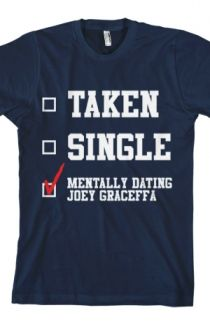 Mentally Dating (Navy) T-Shirt - Joey Graceffa T-Shirts - Online Store on District Lines