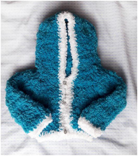 Sweterek puszek - Fantazja-handmade - Sweterki dla dzieci