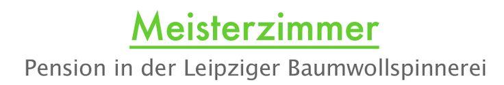 Meisterzimmer Pension in der Leipziger Baumwollspinnerei