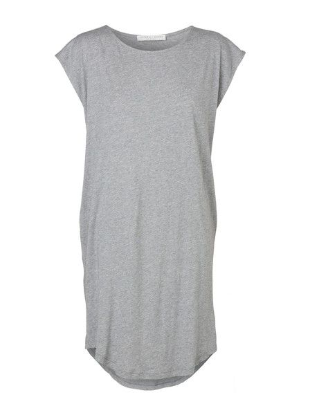 VIKTORIA & WOODS - Rocco Tee Dress - Storm Grey - Basics  $129.90