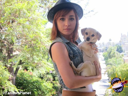 Fandom Planet 50: Allison Scagliotti: Listen and WIN | Geekscape