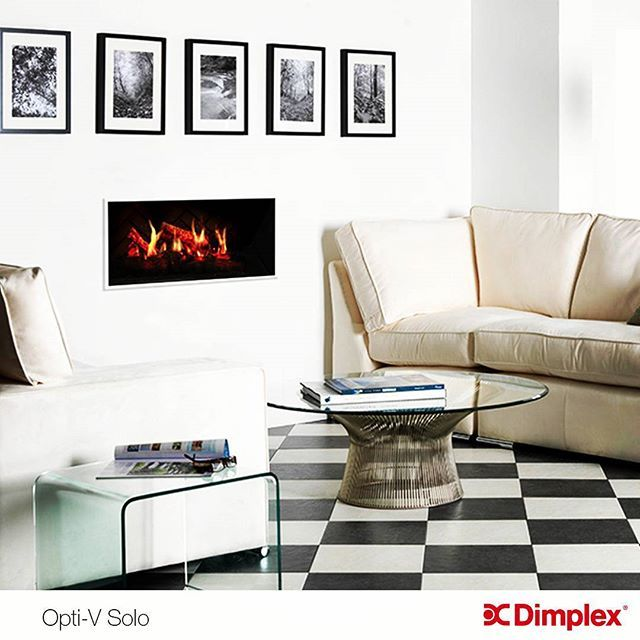 Dimplex's Opti-V Fireplace, The Premier Virtual Fireplace Experience. For more information about our range of fireplaces visit: http://www.dimplex.com/en/