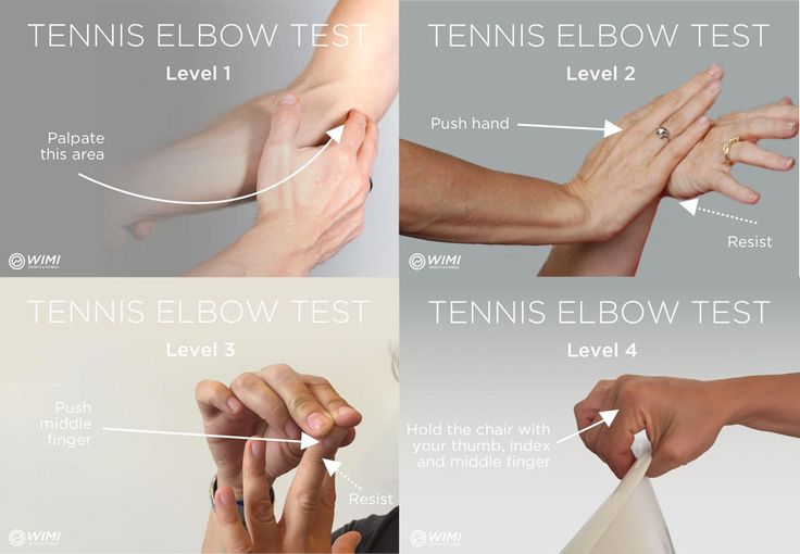 Follow these simple tests to be certain that you have a tennis elbow (lateral epicondylitis). These tennis elbow tests are really simple to do at home. #tennis #tenniselbow #tendonitis