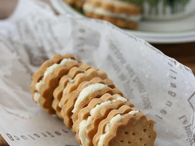 ミルキーバターサンド・プチクッキーの画像