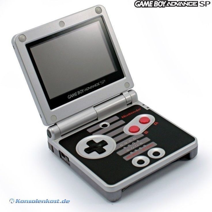 GBA/GameBoy Advance SP NES Edition