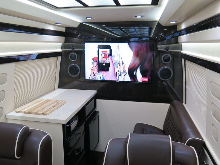 334 Best Interior Conversion Mercedes Benz Sprinter Images On Pinterest Camper Van Conversions
