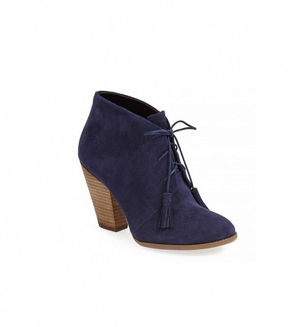 Sole Society Tallie Lace-Up Booties // #Shopping