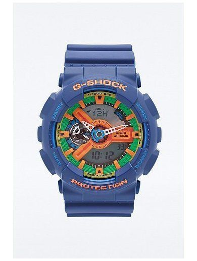 G-Shock Chronograph Watch in Blue