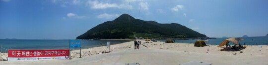 Tongyeong city, Bijin island , south korea