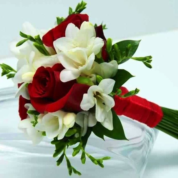 Flowers #1   Lily and rose flowers are beautiful! Select one of the bouquets for Sister Betty!  LIKE and share your selection in the comments.