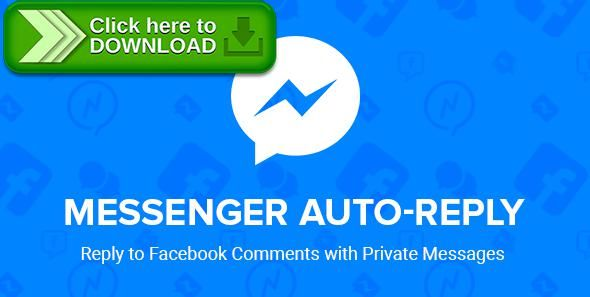 [ThemeForest]Free nulled download Facebook Messenger Auto-Reply from http://zippyfile.download/f.php?id=43198 Tags: ecommerce, advertisement, advertising, auto reply, auto response, conversion rate optimization, facebook ads, facebook marketing, Facebook Messenger, facebook push notification, marketing, marketing plugin, messenger marketing, remarketing, tactical marketing